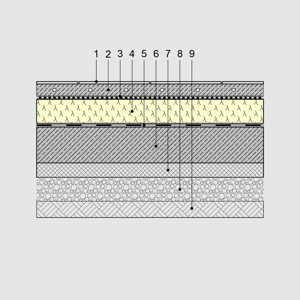 Relativ Schlanke Kellerdeckendämmung, Fußbodendämmung und Dämmung oberste SI17